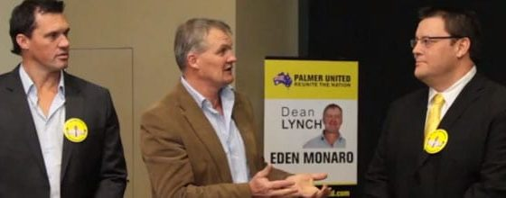 Dean Lynch, Palmer United Party Candidate Launches Campaign 7