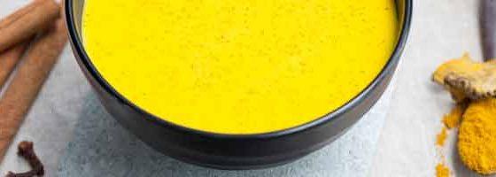 turmeric in bowl.