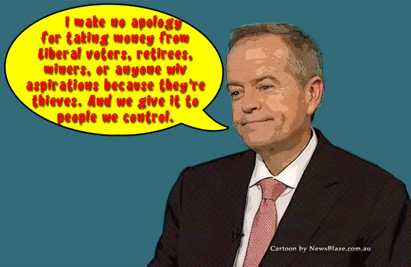 bill shorten attacks silent majority